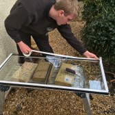 Condensation in double glazed units: The difference is clear to see!