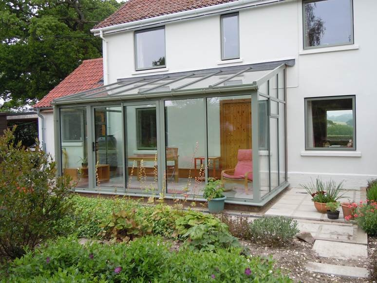 Smart Cement Grey Lean To Conservatory Allglass Amp Glazing