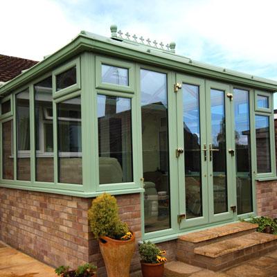 Victorian Conservatories Allglass Glazing Somerset